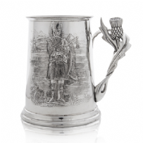 Piper Tankard with Thistle Handle